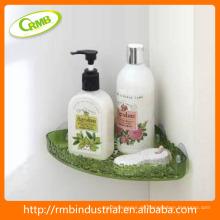 Kunststoff-Badezimmer-Regale Eckhalter