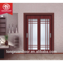 Doppel-Glas-Holztür, Schiebetür Holz-Design, Küche Schiebetür