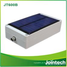 Rastreador de trailer com painel de carregamento solar
