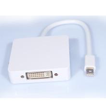 3-em-1 Mini Displayport para adaptador Dp / DVI / HDMI