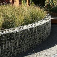 Zhuoda melhor qualidade soldada gabião para paisagismo