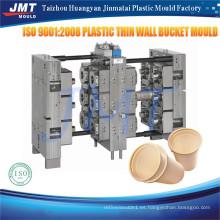 Aduana precio de molde de taza de pared delgada