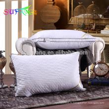 Linge d'hôtel / oreillers d'hôtel remplis de fibres de polyester de haute qualité pour dormir
