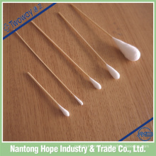 disposable wood stick cotton swab,cotton buds