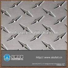 Prix haute qualité et compétitif 1050 1060 1200 1235 feuille en aluminium gaufré en diamant
