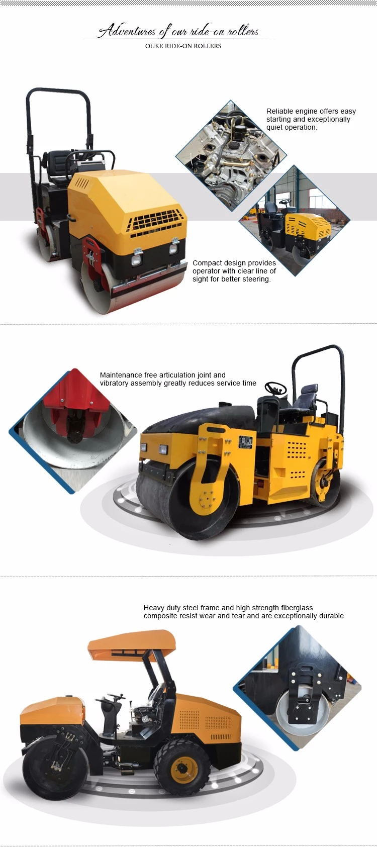 Used Vibration Roller Compactor