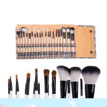 20PCS escova de maquiagem profissional definido para Kabuki / Blush / sombra de olho