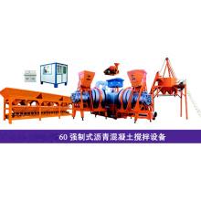 Planta mezcladora de asfalto móvil de 60 t / h