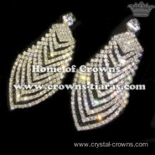 Wholesale Queen Rhinestone Bridal Earrings