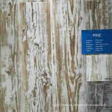 Suelo de PVC de vinilo plástico de madera de color profundo de Pine Color
