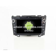 Quad-Core-Android, spezielle Auto-DVD-Player für Honda CRV, Bluetooth, AIRPLAY, SPIEGEL-CAST, DVR, Spiele, Dual Zone, Lenkradsteuerung