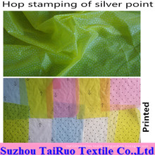 100% Nylon Taffeta Fabric with Hop Stamping for Garment Fabric