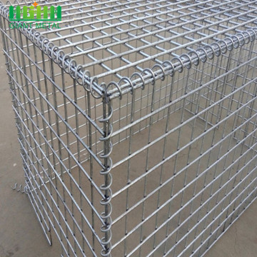 Factory supply galvanized hesco welded gabion box