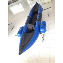 Caiaque inflável para 2 pessoas com tubos de segurança extra pequenos
