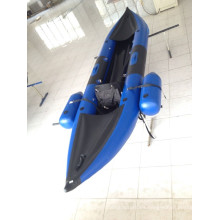 Kayak inflable, canoa inflable de pesca