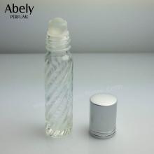 Roller Ball Essential Oil Bottle in Glass