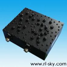 547-617MHz Gamme de fréquences NK Type de connecteur Rf Cavity Filter FX-547-617-100