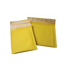 Изготовленный на заказ пустой цвет золота самозапечатанный воздушный валик kraft пузыря