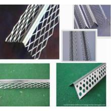 Galvanzied Corner Beads Protect Mesh / Aluminium Perforated Angle Bead