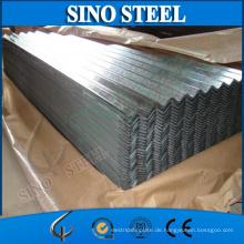 Gewölbtes galvanisiertes Stahldachblech / galvanisiertes Dachblech