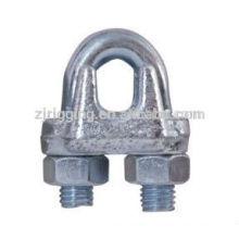 Type de clip de câble métallique malléable GB