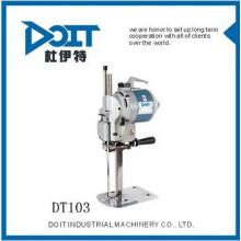 DT-103 máquinas de costura de cortador de Pano para linha de pele de algodão skit fibra química e couro