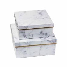 Boîte-cadeau en marbre grand emballage pour le maquillage
