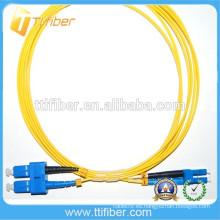 Cable de fibra óptica G652d SM SC / UPC-LC / UPC Patchcords