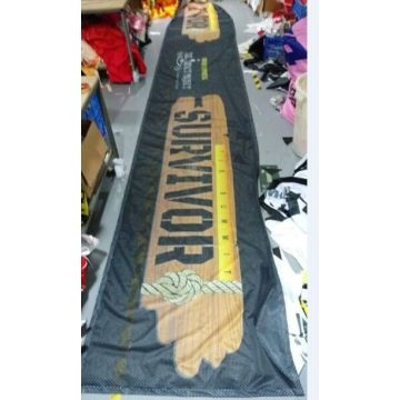 Fabric Outdoor Mesh Banner Sign Wrap Untuk Pagar