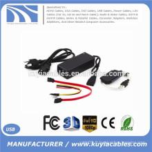 SATA / PATA / IDE vers USB 2.0 Adaptateur Câble pour disque dur 2,5 / 3,5 pouces