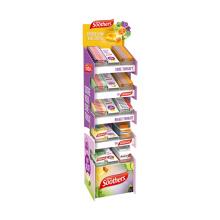 Временная стойка для демонстрации закусок APEX Purple Candy Snack