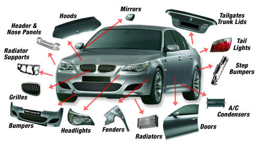 Plastic bumper mould for car