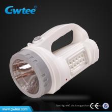 Super-Helligkeit tragbare LED wiederaufladbare Suchbrenner mit Seitenlicht