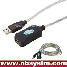 USB 2.0 Active Extension Repeater Kabelführung 5 Meter