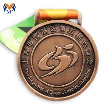 Sports meet design metal medal in school