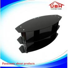 Capacité de charge du téléviseur en verre tempéré jusqu'à 70kg