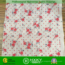 Printed Flower Stoff für Damen Kleid und Kleidung
