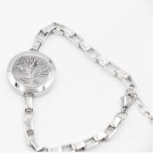 Дерево жизни Магнит Сторона открыта Цементируйте диффузор медальон для браслет ювелирные изделия