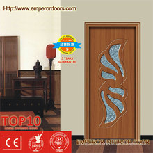Puerta de cristal deslizante de la puerta del PVC del dormitorio de la puerta de cristal del PVC