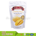 Custom Size Logo Printed Plastic Food Dried Banana Chips Stand Up Pouch Packaging