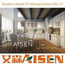 Josephine Modern PVC blanc Meuble de cuisine design de cuisine de luxe