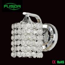 Ein oder zwei Lampen Crystal Chrome Square Wandleuchte