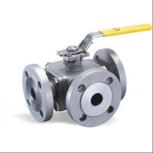 Forged Flanged Steel 3 Way Ball Valve