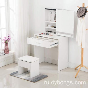 Wooden mirror furniture dressing table