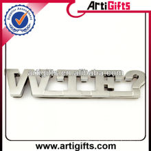 Factory supply metal auto letter emblems