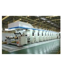 Tiefdruckmaschine mit max. Druckgeschwindigkeit von 250 m / min