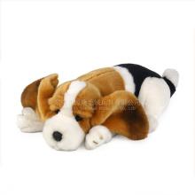 O cão do luxuoso do fornecedor de Guangdong ICTI brinca o volume e os brinquedos baratos do cão com squeakers