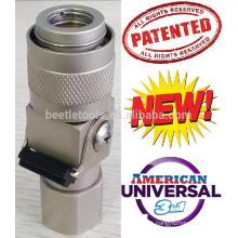Acoplador universal de alto fluxo (engate rápido)