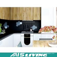Fabricantes de profesionales Muebles de gabinetes de cocina de chapa (AIS-K394)