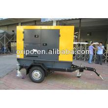 Silencioso 62.5kva / generador diesel portable 50kw con el generador eléctrico magnético